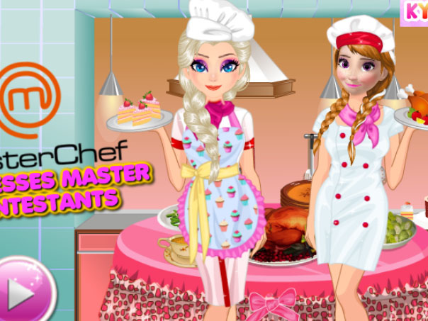 Princesses Masterchef ...