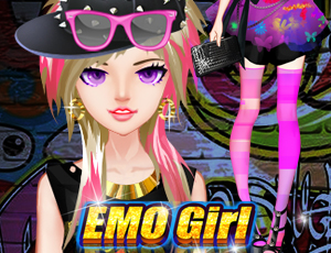 Fashion EMO Girl