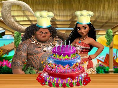 Moana Delicious Cake!