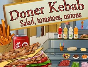 Döner Kebab : salade, ...