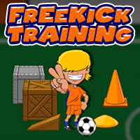 Freekick Training