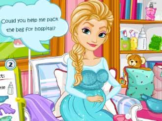 Elsa Gives Birth