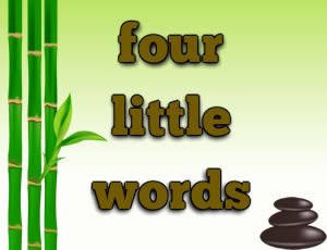 Four Little Words