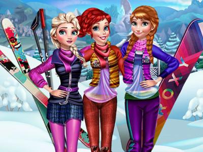 Princesses Visit Arendelle!