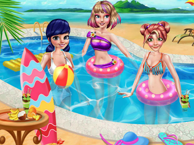 Princesses Summer Vacation ...