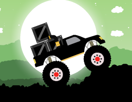 Monster Truck Forest Delivery