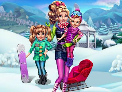 Twins Winter Fun!