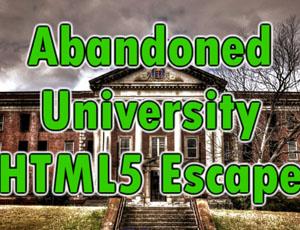 Abandoned University Html5 ...