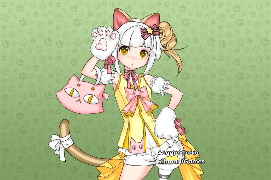 Kitty Idol dress up game