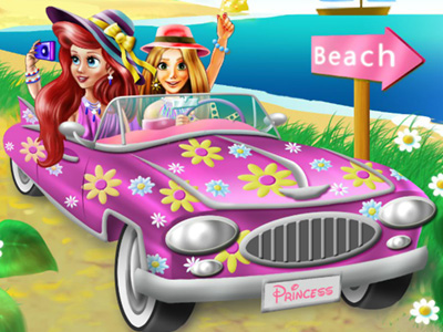Princesses Beach Trip