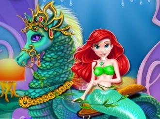 Mermaid Sea Horse Caring