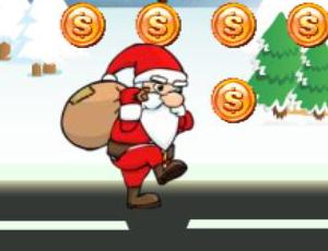 Christmas Parkour Santa
