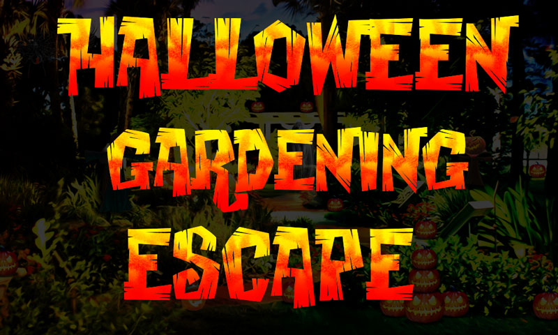 Halloween Gardening Escape