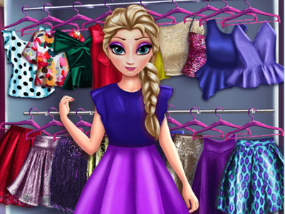 Frozen Princess Wardrobe