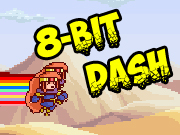 8 bit style arcade runner with two player modes. Run and dash!
