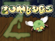 Destroy as many Zombie Bugs as you can to protect your city!
