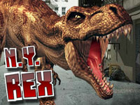 Attention fellow gamers. The long awaited sequel to LA Rex is finally here! NY Rex welcomes back the most dangerous city smashing, people eating, car crushing dinosaur any man has ever seen. This fierce t-rex was captured after his rage in Los Angles and was brought to New York City to be killed. As he was being delivered he broke free from his chains and started a new rampage in the big Apple!
