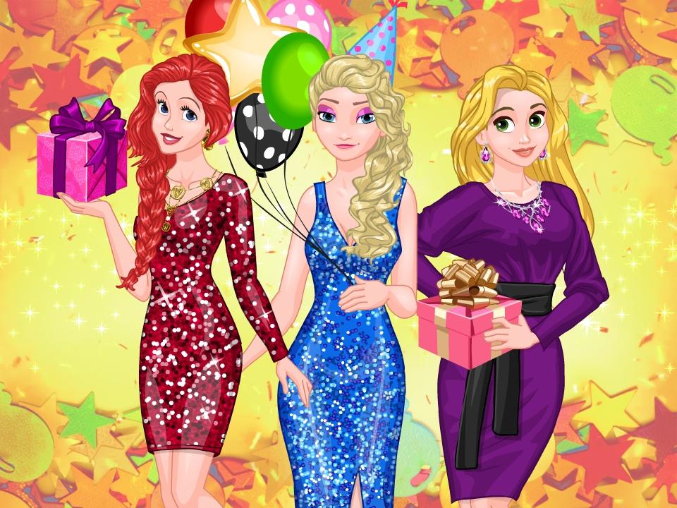 Kış Prensesleri Parti Sürprizi
