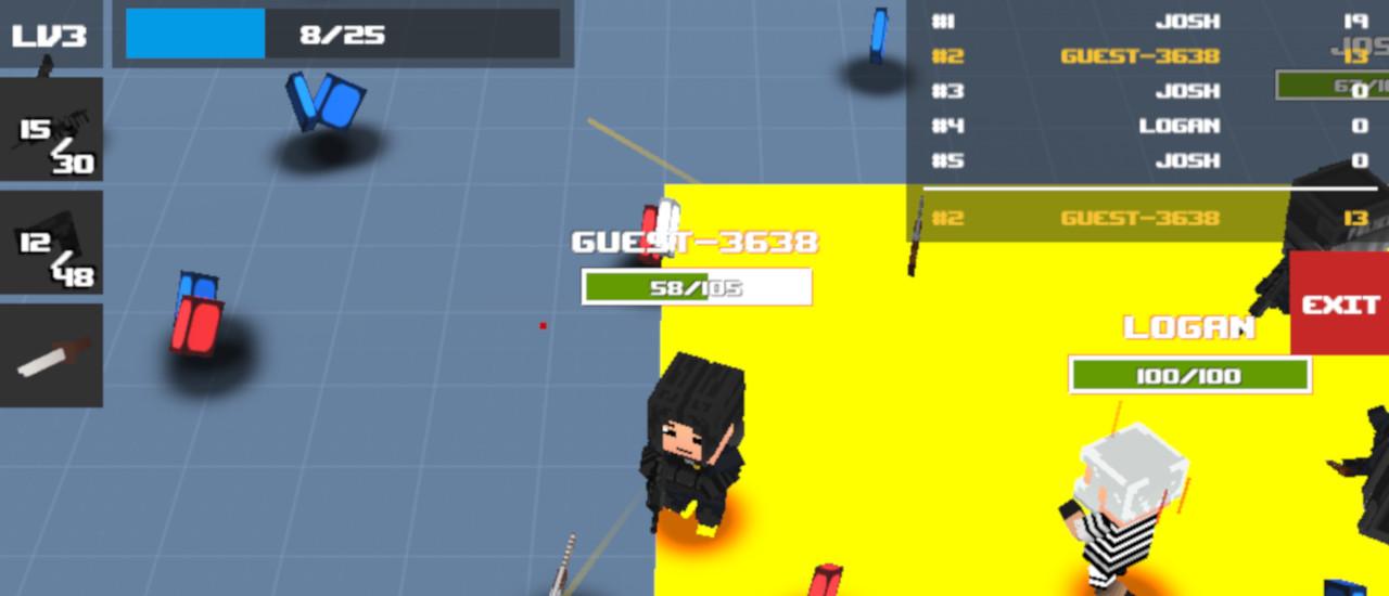 Pixel Shooter.IO