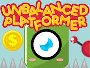 A platformer that seems easy, but it is not! The programmer was too lazy to balance the game, so your task is to balance it so you will be able to complete the level with the one eyed creature. A new game will start with random settings. Collect coins so you can upgrade or downgrade the settings in the level configuration. You just have to complete 1 level, but I bet it will take you some time to complete. A unique game that can be played in the normal or the hardcore mode. Can you find the perfect balance and complete the level or are you frustrated already