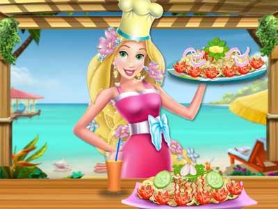 Restaurantes con Rapunzel