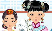 Asian Beauty Dress Up