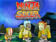 Simple mechanics, lots of content. Play a ninja and slash your way through 8 areas, while collecting masks, swords, and trpophies.