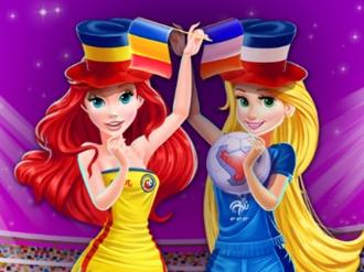 Disney Prensesleri Euro 2016