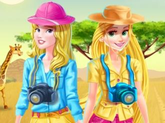 Disney Prensesleri Safari Kostümü