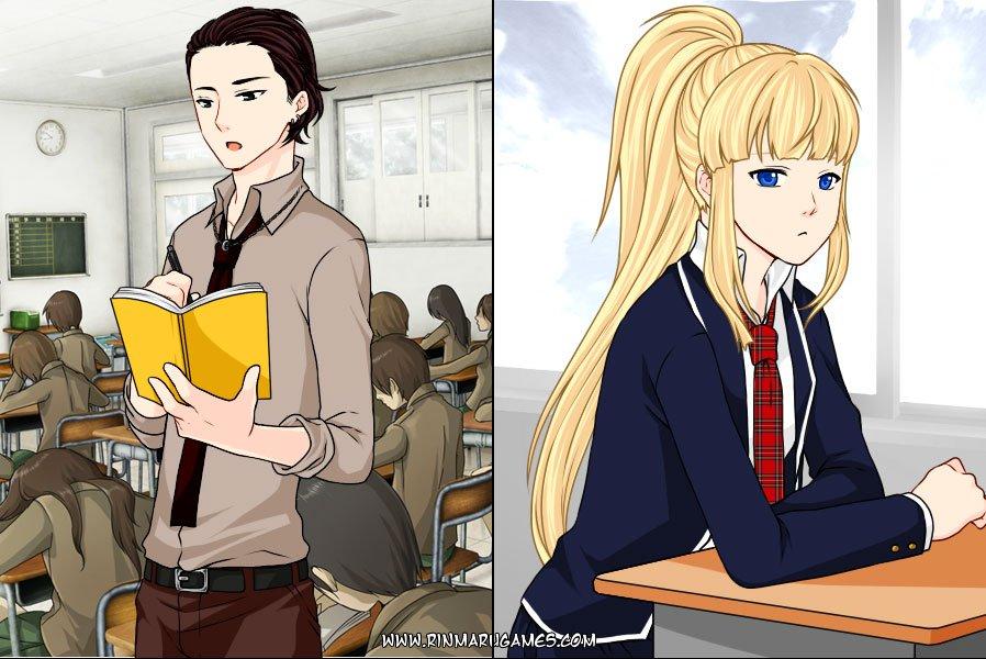 Manga Creator  School Days page 12. Publish Games from Rinmaru Games   Gamedistribution