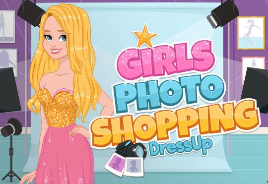 Fotoğraf Çekimi İçin Kızları Giydir