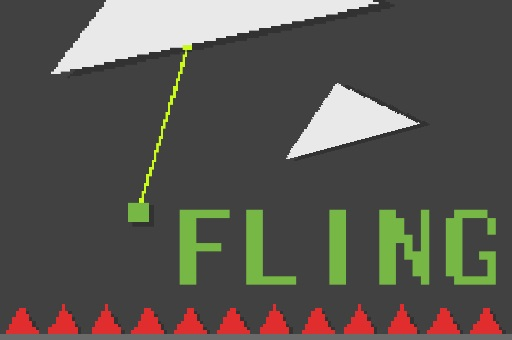 Fling : Move only with Grappling Hook