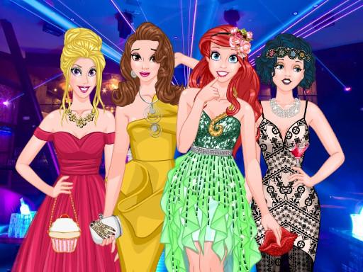 Princesses Graduation Party Night