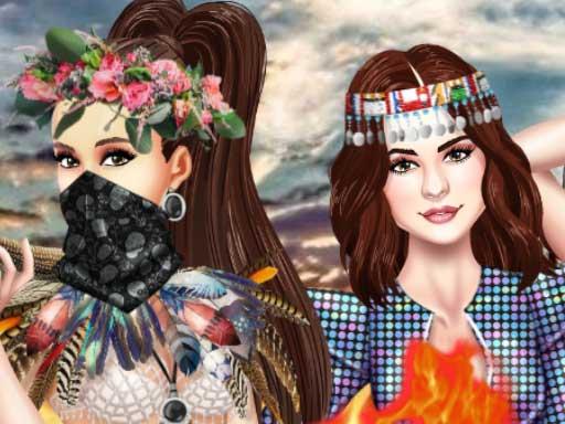 Princess BFF Burning Man