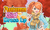Autumn Girl Dress Up online hra