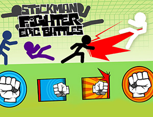Stickman Fighter: Epic Ba…