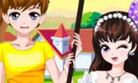 Romantic Spring Couple online hra