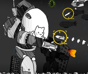 Purrmageddon is a challenging game in which you control cat, who is in the control of giant mech-warrior, trying to destroy to world. Are you skilled enough to achieve this quest of will you fail miserably?