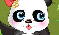 Lovely Panda Dress Up
