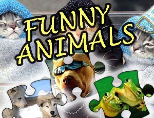 Komik Hayvanlar Yapboz