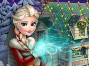 Frozen Xmas House Makeover