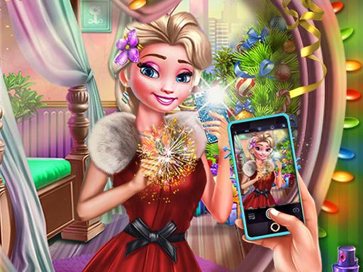 New Year Insta Selfie