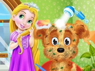 Bañar perros Rapunzel