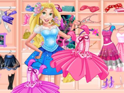 Vestir princesas divertido