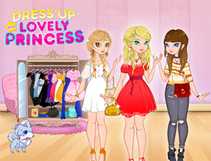 Güzel Prensesi Giydir