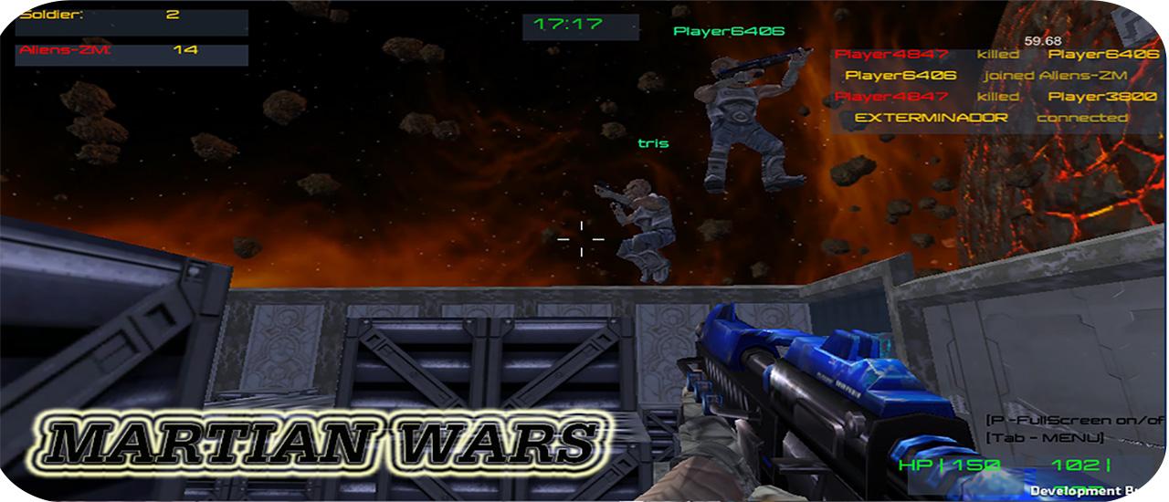 Martian Survivor Battle