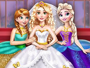 Vestir princesas para casamiento