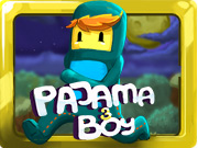 Pajama Boy is coming back to his home town after long wandering and dangerous adventures. However, a horrible strange power that can control the metal destroyed the city, the inhabitants and Pajama boy's family are held hostages. Only he can save them.