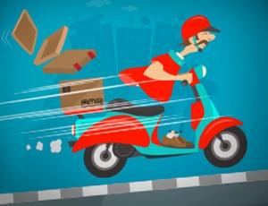 Motorsikletli Çılgın Kurye