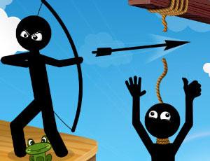 Maître de l'arc stickman hero